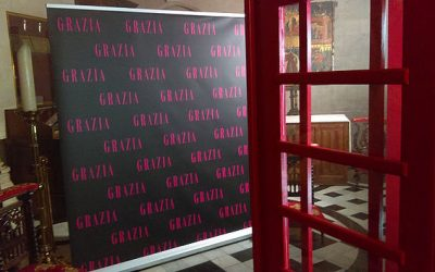 Le British photobooth pour Grazia !