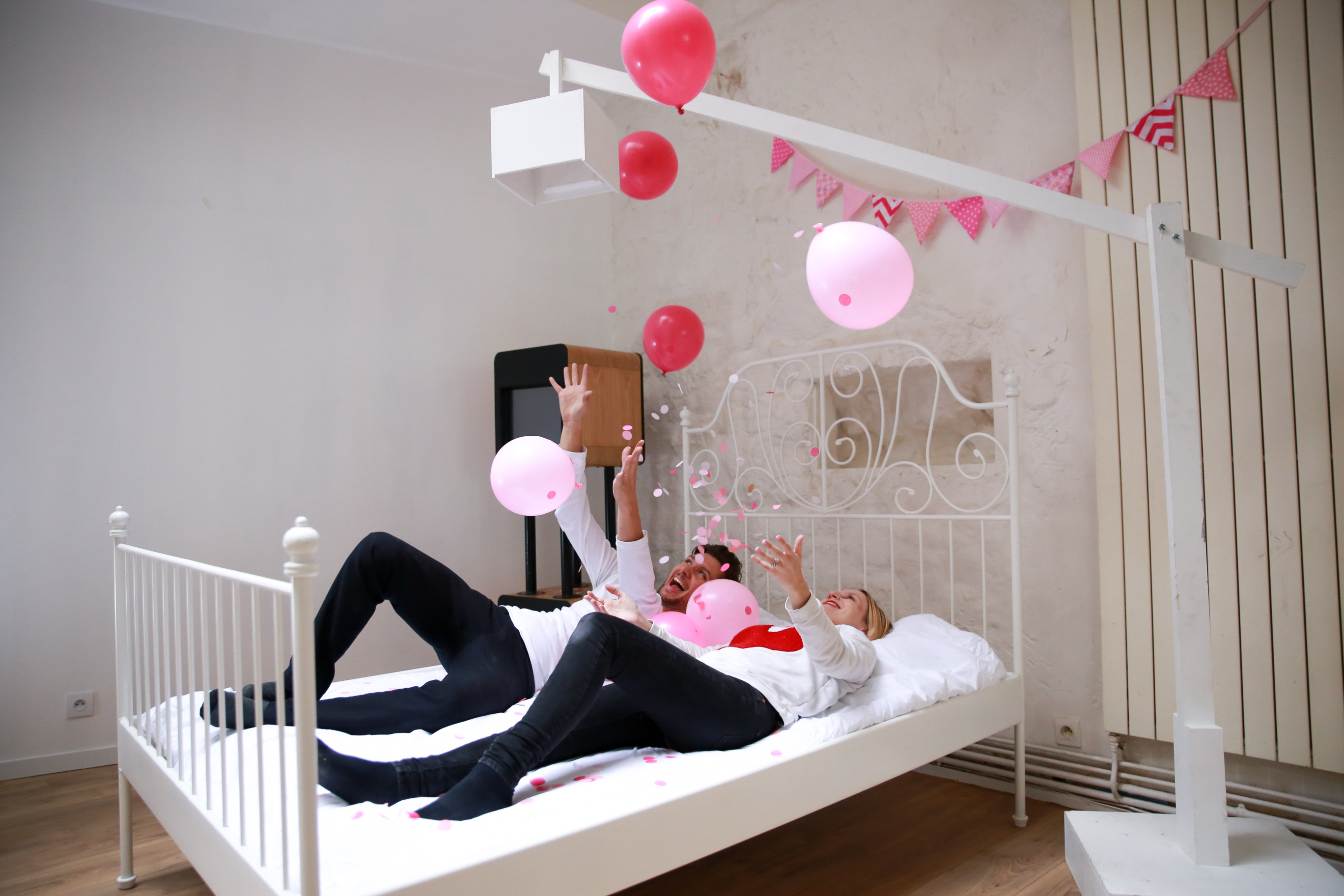 Bed photobooth, une animation de soirée originale par Mister Like That